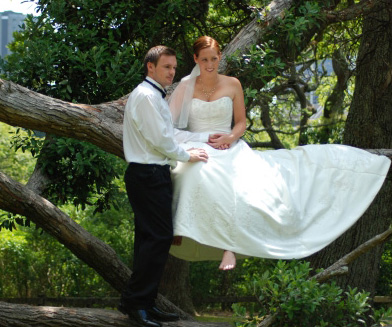 Katie in Melbourne bridal gowns