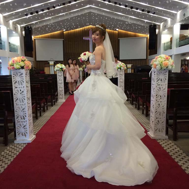 Jane (Hsio Ching Hii) bridal shops Auckland