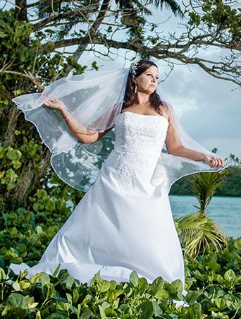 Tiffany Clarke, Wedding Dress